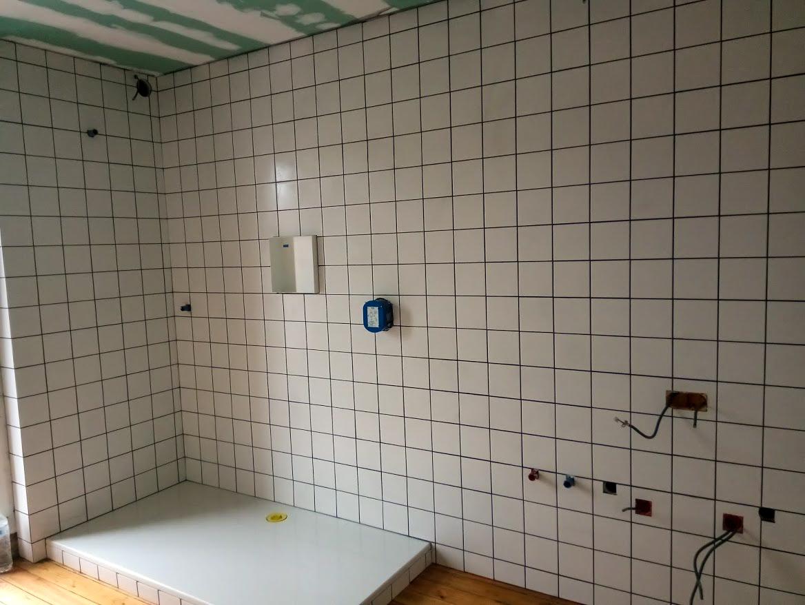 Sven Era - Realisaties - Tegelwerken badkamer