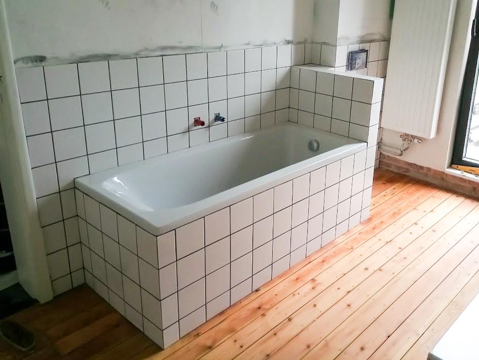 Sven Era - Realisaties - Tegelwerk badkamer 2