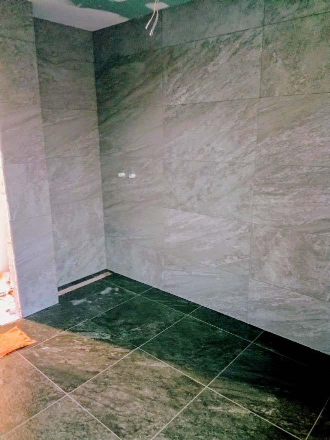Sven Era - Tegelwerken - Renovatie van badkamer